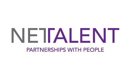 Net talent logo.